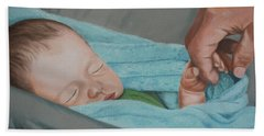 Psalm Four Eight Hand Towel