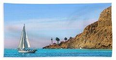 Pt Loma - San Diego Bay Bath Towel