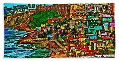 Old San Juan Puerto Rico Walled City Hand Towel