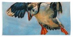 Puffin Hand Towel