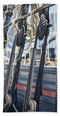 Pulley And Stay Bath Towel