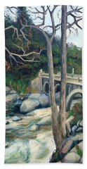 Pumpkin Hollow Bridge Bath Towel