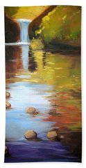 Punch Bowl Reflection Hand Towel