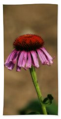 Purple Coneflower Hand Towel