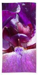 Purple Diva Hand Towel by Brooks Garten Hauschild