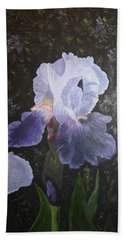 Purple Elegance Hand Towel
