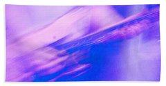 Hand Towel featuring the photograph Purple Haze by Alex Lapidus