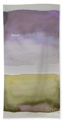 Purple Morning Hand Towel
