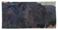Purple Mountains Hand Towel