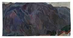 Purple Mountains Bath Towel