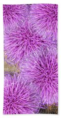 Purple Thistle - 2 Bath Towel