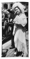 Queen Elizabeth Fashion Hand Towel by Underwood Archives