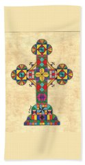 Quilted Cross Bath Towel