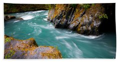 Quinault River Bend Hand Towel