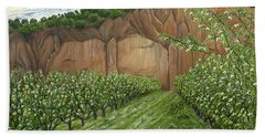 Quince Trees Bath Towel