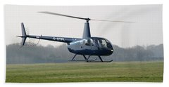 R44 Raven Helicopter Bath Towel