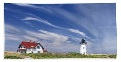 Race Point Light Hand Towel by Bill Wakeley