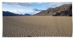 Racetrack Playa Death Valley Bath Towel