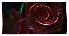 Radiant Rose  Hand Towel
