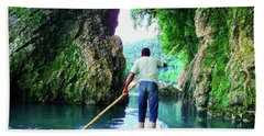 Rafting On The Rio Grande Hand Towel