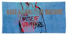 Rage Against The Machine Bath Towel