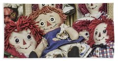 Raggedy Ann And Andy Bath Towel