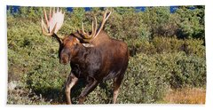 Charging Bull Bath Towel
