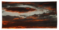 Raging Sunset Hand Towel