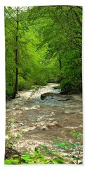 Raging Waters - West Virginia Backroad Bath Towel