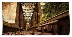 Railroad Bridge Hand Towel