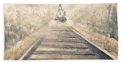 Railway Bound Bath Towel