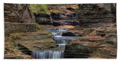 Rainbow Falls Bath Towel