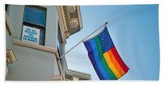 Rainbow Flag Marriage Equality Hand Towel