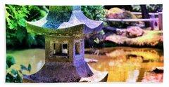 Rainbow Pagoda Bath Towel