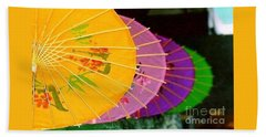 Bath Towel featuring the photograph New Orleans Rainbowellas by Michael Hoard