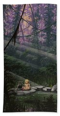 Rainforest Mysteries Bath Towel