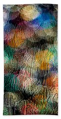 Rainy Day Christmas Bath Towel by Aaron Aldrich