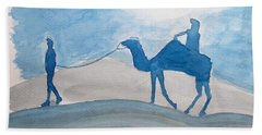Rajasthani Blues Hand Towel