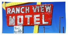 Ranch View Motel Hand Towel