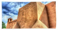 San Francesco De Asis, Rancho De Taos I Hand Towel by Lanita Williams