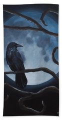 Raven Moon Bath Towel