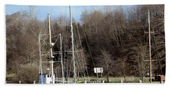 Raymond Fishing Boats Bath Towel by Chalet Roome-Rigdon