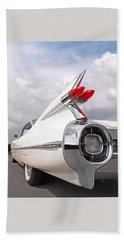 Reach For The Skies - 1959 Cadillac Tail Fins Bath Towel