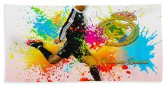 Real Madrid - Portuguese Forward Cristiano Ronaldo Hand Towel