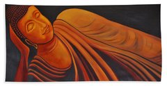 Reclining Buddha Bath Towel