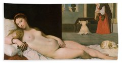 Reclining Venus Hand Towel