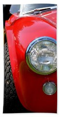 Red Ac Cobra Bath Towel by Dean Ferreira