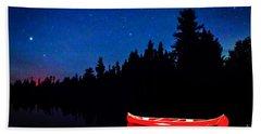 Red Canoe I Hand Towel