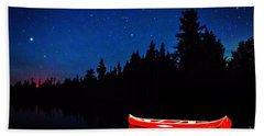 Red Canoe Hand Towel