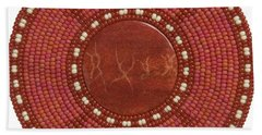 Red Coral Hand Towel